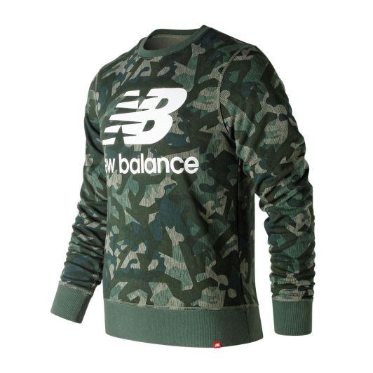 New Balance MT91548 Yeşil Sweatshirt MT91548-MGN