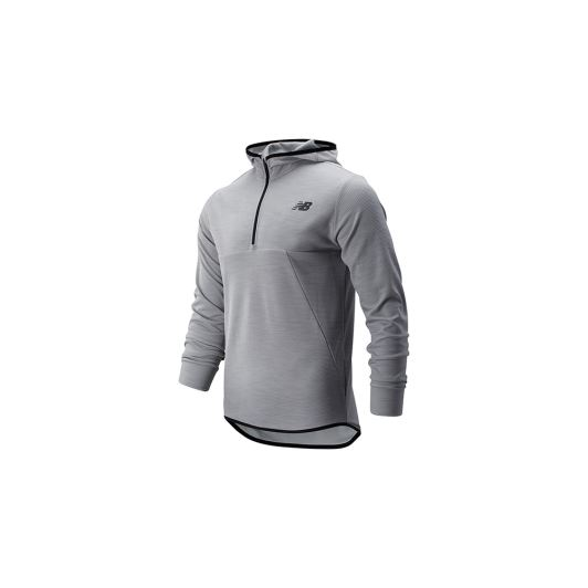 New Balance MT93089 Gri Sweatshirt MT93089-AG